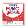 FIMO kids полимерная глина для детей, уп. 42 гр. цвет: блестящий красный