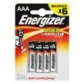 Батарейка Energizer Max, 1.5В, алкалиновая