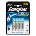 Батарейка Energizer Maximum AAA/LR03, 1.5В, алкалиновая