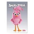 Блокнот Hatber Angry Birds, А7, 48 листов, в клетку, на склейке, мелованный картон, ассорти