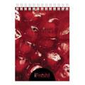 Блокнот Hatber iFresh, А6, 60 листов, в клетку, на спирали, пластик, ассорти