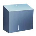 Диспенсер для туалетной бумаги в рулонах Merida Stella Duo BSM202, металлик