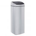 Контейнер для мусора Merida Touch Bin KMS44, 25л, с автоматической крышкой, металлик