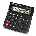 Калькулятор настольный Citizen SDC-340 черный, 10 разрядов