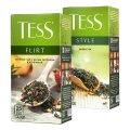 Чай Tess Green, зеленый, 25 пакетиков