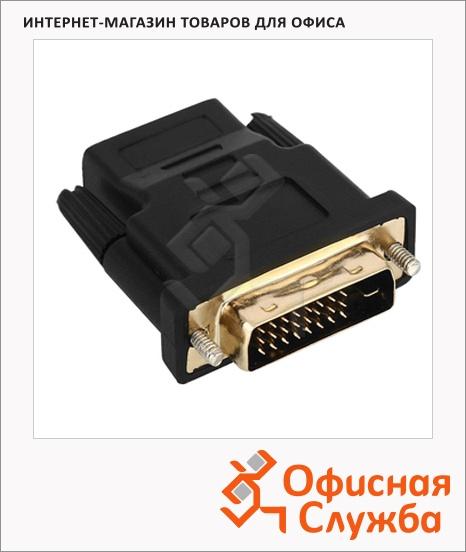 фото: Адаптер переходник Cablexpert черный A-HDMI-DVI-2