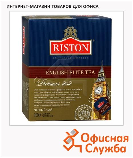 фото: Чай Riston English Elite черный, 100 пакетиков