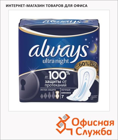 фото: Прокладки Always Ultra Night Deo размер 5, 7шт