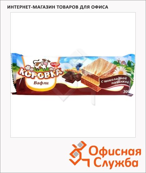 фото: Вафли Рот Фронт Коровка со вкусом шоколада 300г
