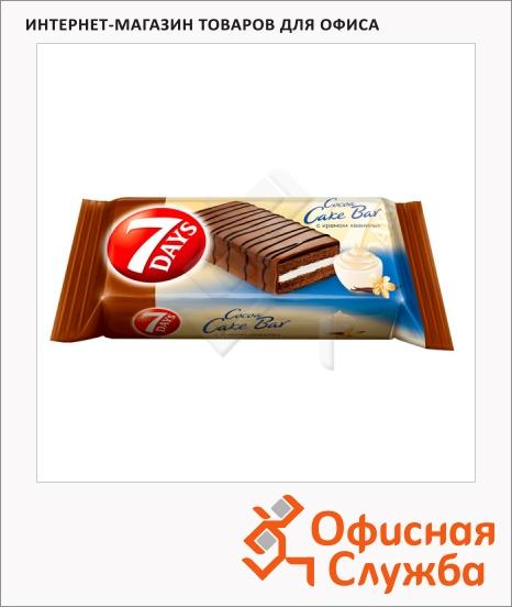фото: Бисквит 7 Days Cocoa Cake Bar с ванильным кремом 35г