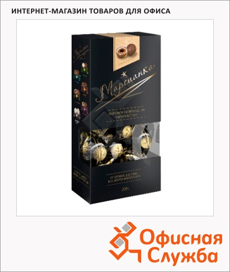 фото: Конфеты Марсианка три шоколада 200г., подар.кор.