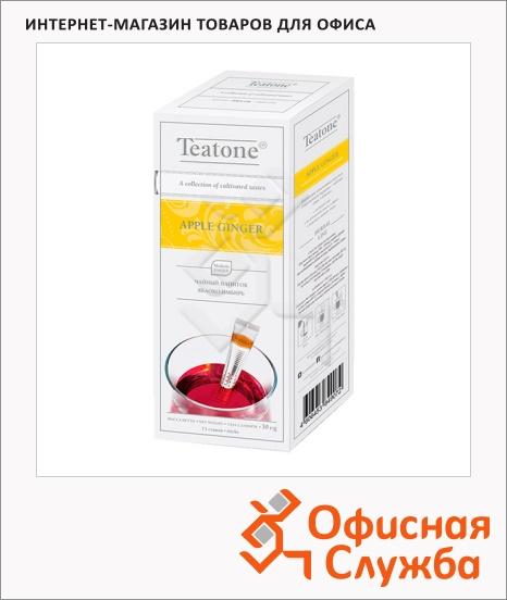 фото: Чай Teatone Apple Ginger травяной, 15 стиков