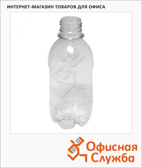фото: Бутылка пустая с узким горлом 250мл ПЭТ, прозрачная