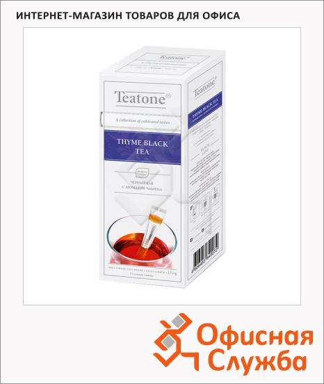 фото: Чай Thyme Black Tea черный, 15 стиков