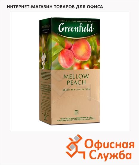 фото: Чай Greenfield Mellow Peach (Меллоу Пич) улун, 25 пакетиков