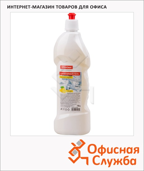 Средство чистящее для сантехники санитарный гель 750 мл фото