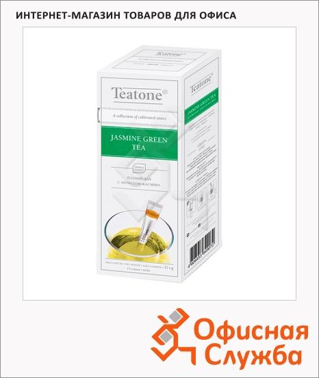 фото: Чай Teatone Jasmine Green Tea зеленый, 15 стиков
