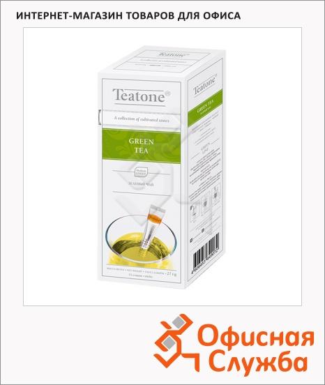 фото: Чай Teatone Green Tea зеленый, 15 стиков