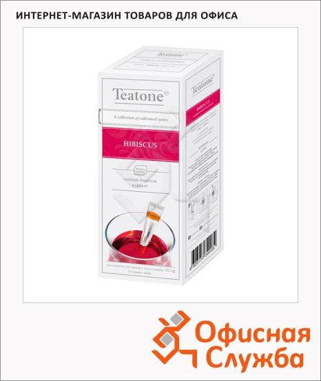 фото: Чай Teatone Hibiscus травяной, 15 стиков