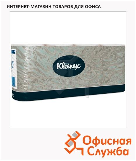 фото: Туалетная бумага Kimberly-Clark Kleenex 8442 белая, 2 слоя