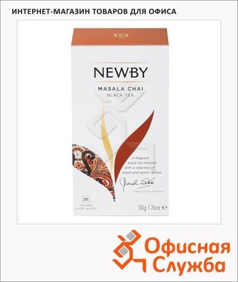 фото: Чай Newby Masala (Масала) черный, 25 пакетиков
