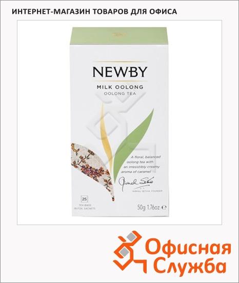 фото: Чай Newby Milk Oolong (Милк оолонг) улун, 25 пакетиков