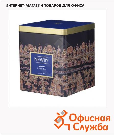 фото: Чай Newby Classic Caddy Collection Assam (Ассам) черный, листовой, 125 г, ж/б
