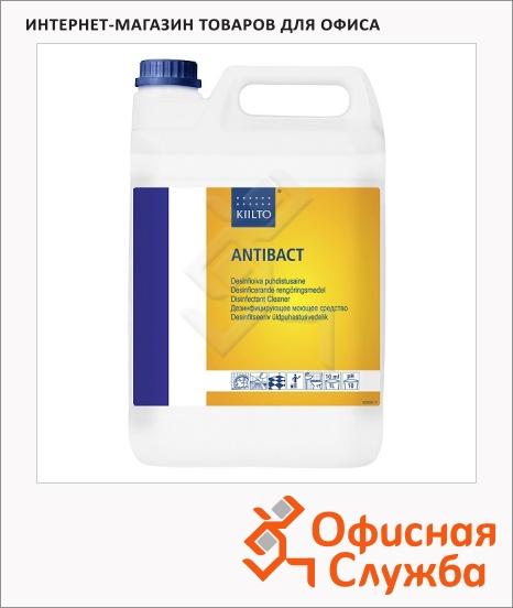фото: Моющее средство Kiilto Antibact 5л для основной очистки и дезинфекции, 205078