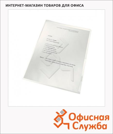 фото: Папка-уголок Leitz ReCycle Premium прозрачная A4, 130мкм, 25 шт/уп, 40013003