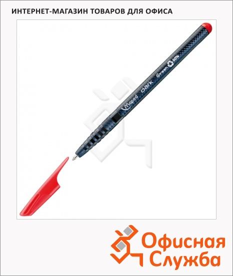 фото: Ручка шариковая Maped Green Dark красная 0.6мм