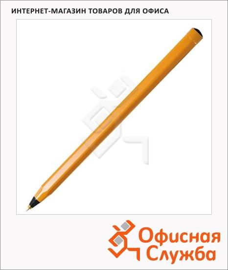 фото: Ручка шариковая Bic Orange черная 0.35мм, 20шт
