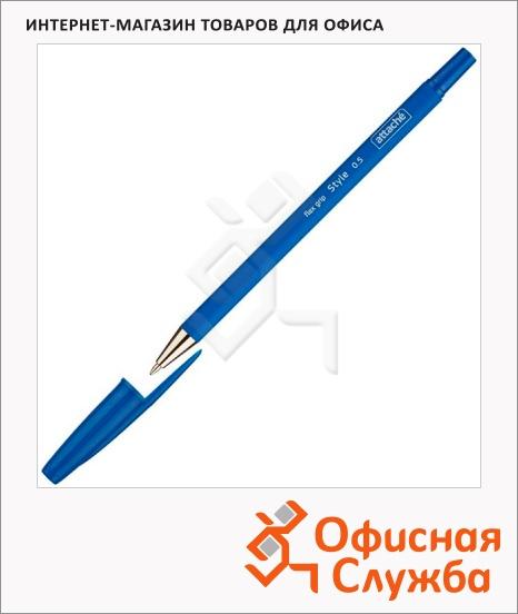 фото: Ручка шариковая Attache Style синяя 0.5мм