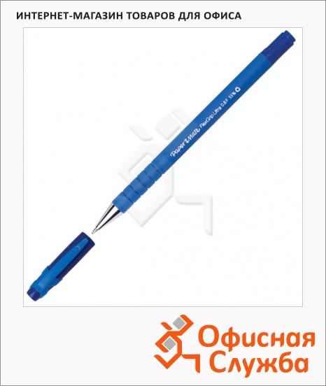 фото: Ручка шариковая Paper Mate Flexgrip Ultra Capped синяя 0.8мм, синий корпус, S0190093