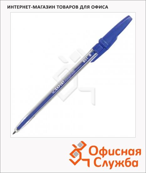 фото: Ручка шариковая Expert Complete В51 синяя 0.8мм
