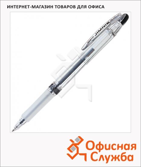 фото: Ручка шариковая Zebra Jimnie черная 0.7мм