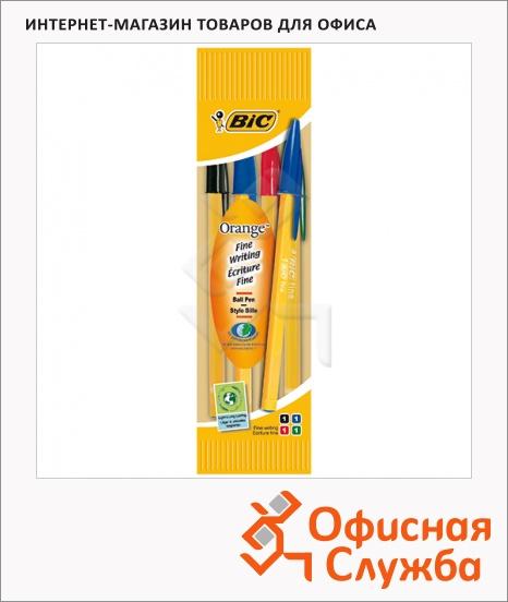 фото: Набор ручек шариковых Bic Orange 4 цвета 0.35мм