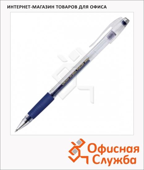 фото: Ручка гелевая Crown синяя 0.5мм