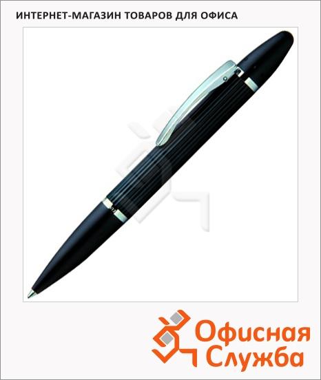 фото: Ручка шариковая Lerche Scrinova Premium черная черный матовый корпус