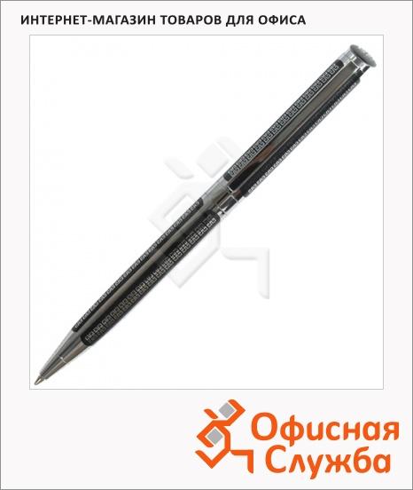 фото: Ручка шариковая Galant Olympic Chrome синяя 0.7мм, черный корпус