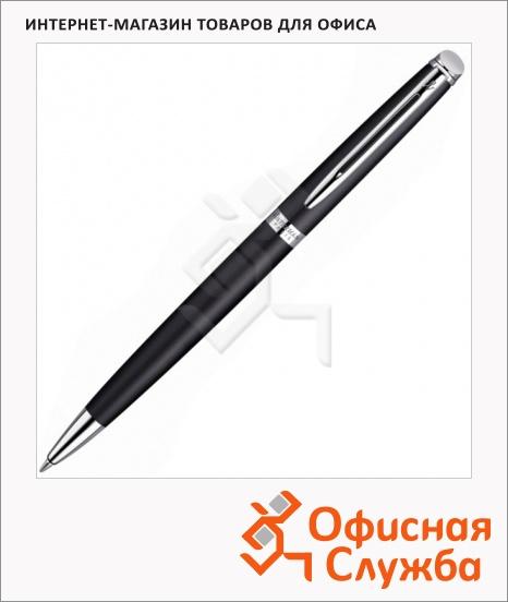 фото: Ручка шариковая Waterman Hemisphere 2010 Matt Black CТ 1мм корпус черный хром, S0920870