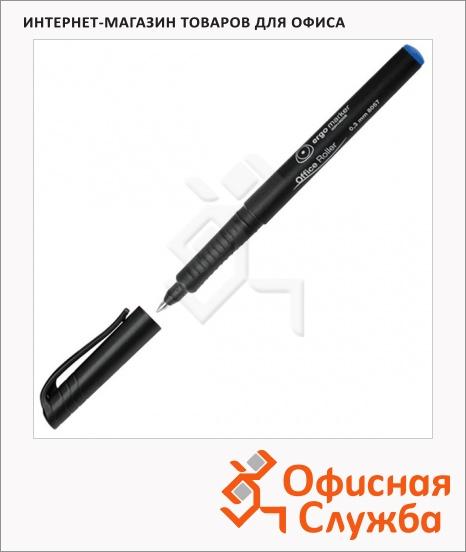 фото: Ручка-роллер Koh-I-Noor 7780573801KS синяя 0.3мм, трехгранная