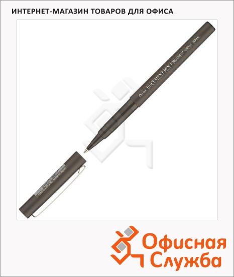 фото: Ручка-роллер Pentel Dokument Pen черная 0.3мм
