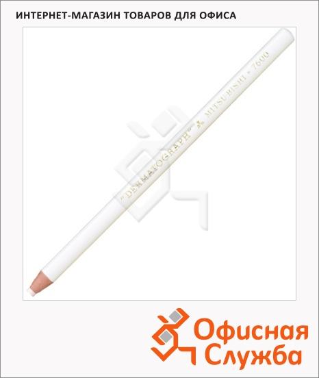 фото: Карандаш перманентный Uni Dermatograph P-7600 белый