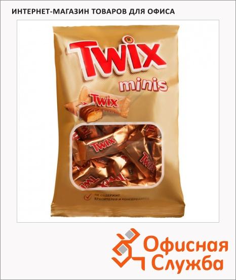 фото: Батончик шоколадный Twix Minis 184г