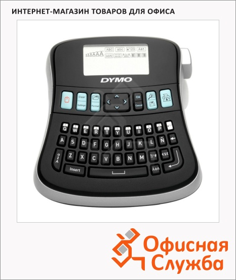 фото: Принтер этикеток Dymo Manager 210D S0815220 алфавит-латиница, кириллица
