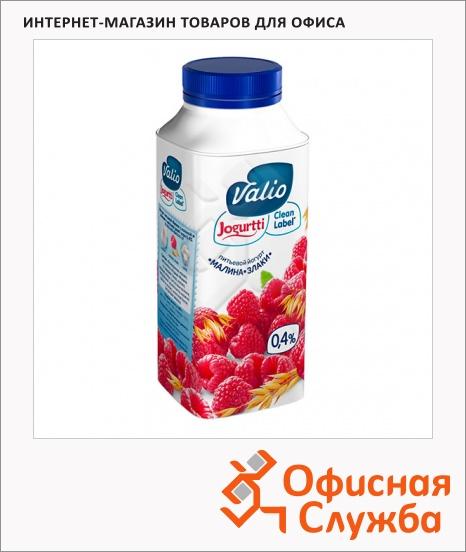 фото: Йогурт питьевой Valio 0.4% малина-злаки 330г