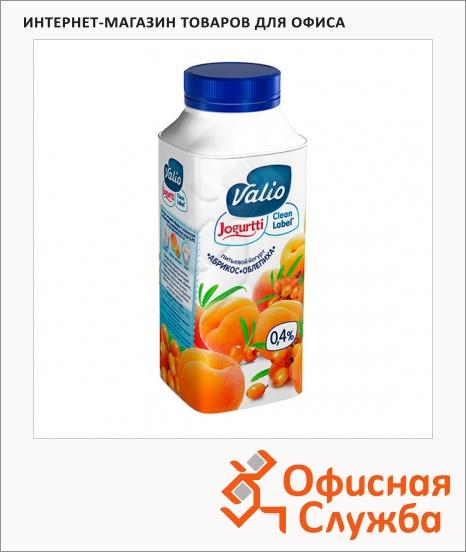 фото: Йогурт питьевой Valio 0.4% абрикос-облепиха 330г