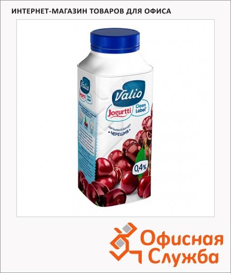 фото: Йогурт питьевой Valio 0.4% черешня 330г