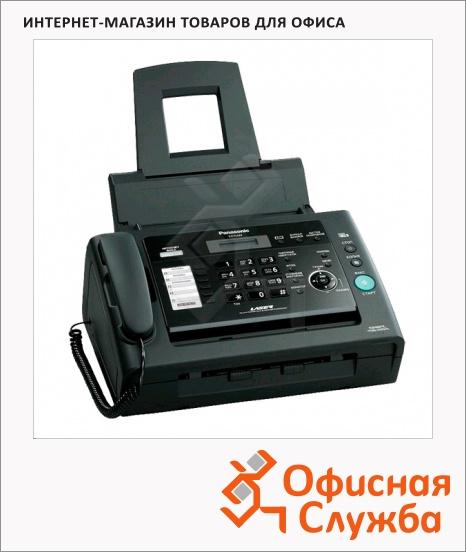 фото: Факсимильный аппарат Panasonic KX-FL423RU черный лазерная печать А4