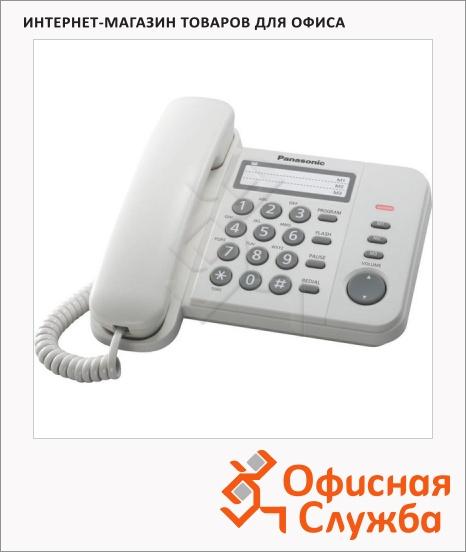 фото: Телефон проводной Panasonic KX-TS2352RU белый